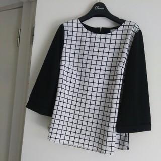 ジーユー(GU)のシュホン使用少な目サイズM (Tシャツ(長袖/七分))
