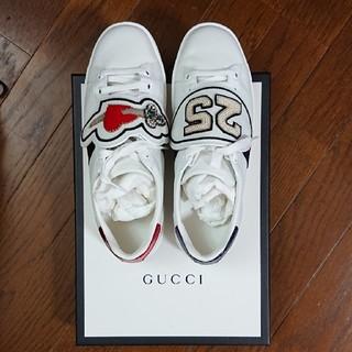 グッチ(Gucci)の安室奈美恵 GUCCI 25th記念 使用 スニーカー (スニーカー)
