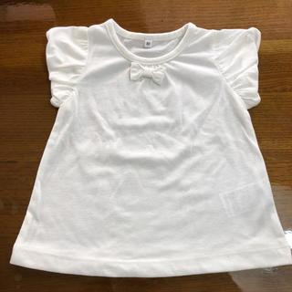 しまむら - ベビー リボンTシャツ