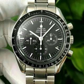 OMEGA - OMEGA 黒文字盤 メンズ 腕時計