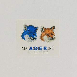 メゾンキツネ(MAISON KITSUNE')のADER ERROR × MAISON KITSUNE★ステッカー(その他)