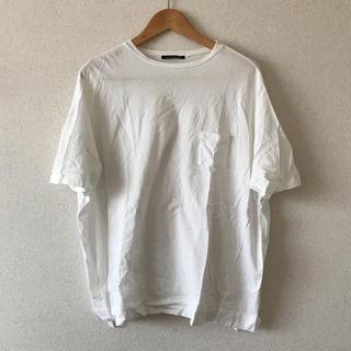 アーバンリサーチ(URBAN RESEARCH)のmizuiro ind ワイドTシャツ(Tシャツ(半袖/袖なし))