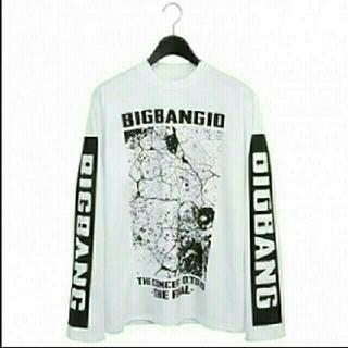 ビッグバン(BIGBANG)のBIGBANG♡ロングTシャツ♡白(K-POP/アジア)