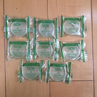 ノブ(NOV)のノブアクネソープ 8個 ニキビ肌用石けん サンプル クーポン ポイント消化(洗顔料)