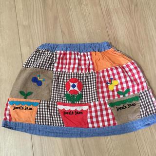 プチジャム(Petit jam)のプチジャム スカート  110(スカート)