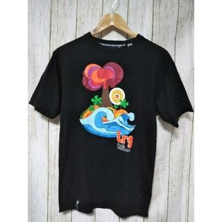 エルアールジー(LRG)のLRG エルアールジー ビッグプリント Tシャツ ブラック Sサイズ(Tシャツ/カットソー(半袖/袖なし))