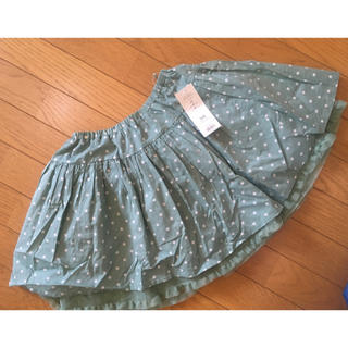☆GU☆140センチ☆裏地付きスカート☆新品未使用☆