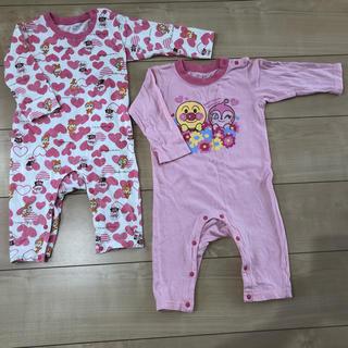ニシマツヤ(西松屋)のアンパンマン パジャマ 2枚セット(パジャマ)