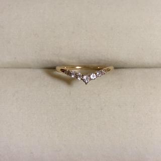 スタージュエリー(STAR JEWELRY)の美品 star jewelry ゴールドリング 5号 ギャランティーカード付き(リング(指輪))