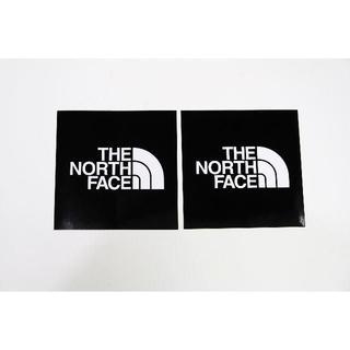 THE NORTH FACE -  ノースフェイス  TNFステッカー小 ブラック2枚