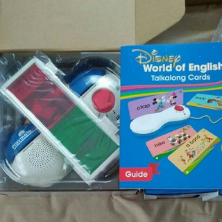 新品 DWE  ディズニー英語 トークアロング プレイメイトair (知育玩具)