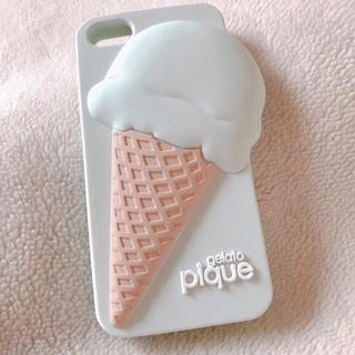 ジェラートピケ(gelato pique)の【正規品】gelato pique iPhoneケースiPhoneSE/5S/5(iPhoneケース)