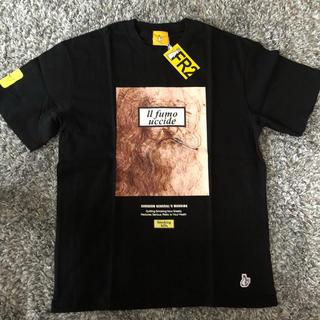 ヴァンキッシュ(VANQUISH)のFR2 smoking kills ダヴィンチ tシャツ 印象主義 L(Tシャツ/カットソー(半袖/袖なし))