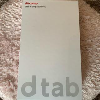 エヌティティドコモ(NTTdocomo)のd tab 動作確認のみ起動(タブレット)