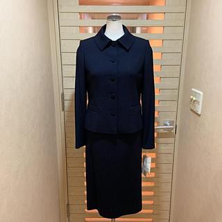 ハナエモリ(HANAE MORI)のハナエモリHANAE MORI新品7号定価11万税お受験定番濃紺ワンピーススーツ(スーツ)