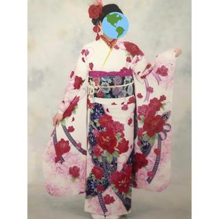 【卒業式用袴付き!】振袖フルセット【美品】成人式&卒業式(振袖)