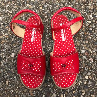 ミキハウス(mikihouse)のミキハウス靴21㎝(サンダル)