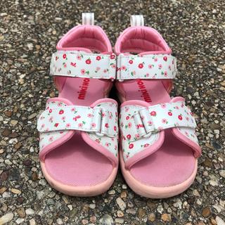 ミキハウス(mikihouse)のミキハウス靴19㎝(サンダル)