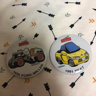 ホンダ(ホンダ)のホンダ 車、バイク缶バッジ(ミニカー)