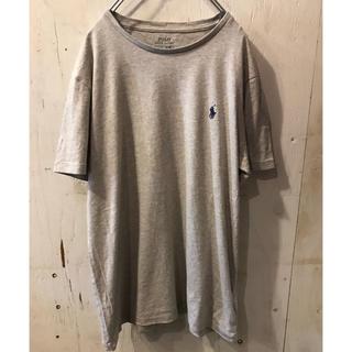 ラルフローレン(Ralph Lauren)のラルフローレン Tシャツ ロゴ グレー L(Tシャツ/カットソー(半袖/袖なし))