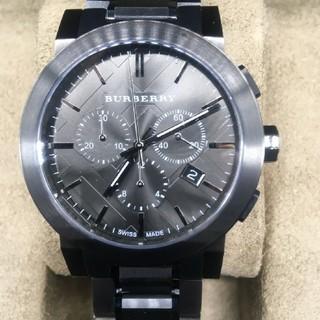 バーバリー(BURBERRY)のBURBERRY バーバリー メンズ ブラック 腕時計(腕時計(アナログ))