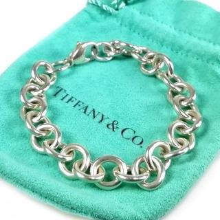 Tiffany & Co. - 美品 希少 ティファニー ドーナツ ビッグ チェーン ブレス VJ55