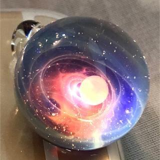 【新品】正規品宇宙ガラス プラスアルファ +α plusalpha 赤系(ネックレス)
