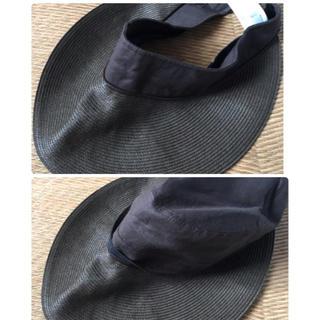 ユニクロ(UNIQLO)の2way帽子*UNIQLO(麦わら帽子/ストローハット)