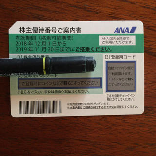 ANA(全日本空輸) - ANA株主優待 1枚