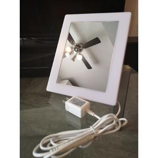 ムジルシリョウヒン(MUJI (無印良品))のtomo様専用未使用! LEDアクリルミラーライト  鏡(卓上ミラー)