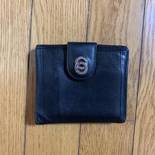 ブルガリ(BVLGARI)のBVLGARI   2つ折り財布  黒   お値下げ(財布)