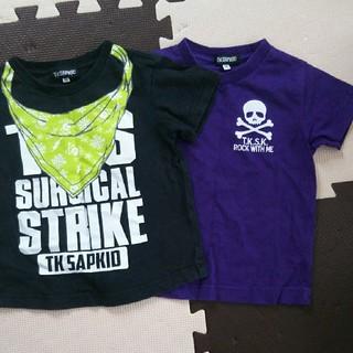 ザショップティーケー(THE SHOP TK)のTK SAPKID ティシャツセット 100(Tシャツ/カットソー)