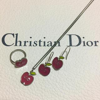 クリスチャンディオール(Christian Dior)のChristian Dior 3点SET★正規品(ネックレス)