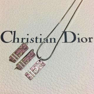 クリスチャンディオール(Christian Dior)のChristian Dior 2点SET★正規品(ネックレス)