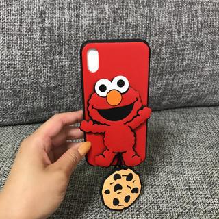セサミストリート(SESAME STREET)のクッキーモンスター iPhone X/XS ケース(iPhoneケース)