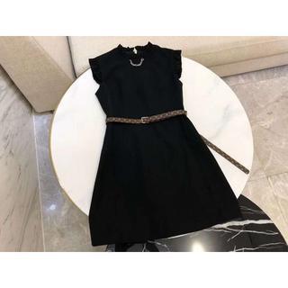 ルイヴィトン(LOUIS VUITTON)の Louis Vuitton スリーブレスドレス ワンピース(ひざ丈ワンピース)