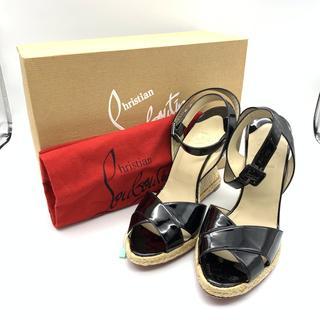 クリスチャンルブタン(Christian Louboutin)の美品 クリスチャン ルブタン サンダル 靴 エスパドリーユ サイズ 41(サンダル)
