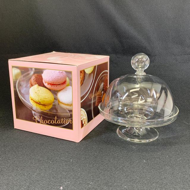 ショコラティエ スイーツドームM 未使用 ガラスドーム  インテリア/住まい/日用品のキッチン/食器(食器)の商品写真