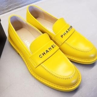 シャネル(CHANEL)のCHANEL ファレルウィリアムス コラボレーションローファー シャネルファレル(ローファー/革靴)