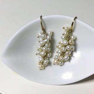 アーカー(AHKAH)のmederu jewelry メデルジュエリー ピアス k10(ピアス)