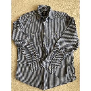 エイチアンドエム(H&M)のH&Mストライプシャツ(シャツ)