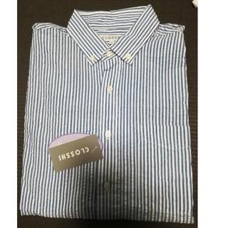 しまむら - 【新品】ストライプ シャツ