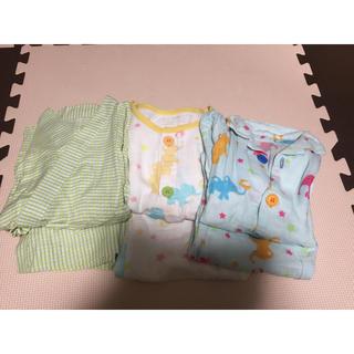Combi mini - ガーゼパジャマ セット コンビミニ 半袖 長袖 甚平 100センチ