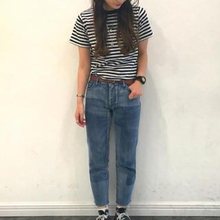 エックスガール(X-girl)のX-girl ボーダー Tシャツ(Tシャツ(半袖/袖なし))