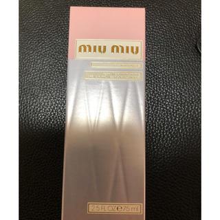 ミュウミュウ(miumiu)のmiumiu ハンドクリーム(ハンドクリーム)