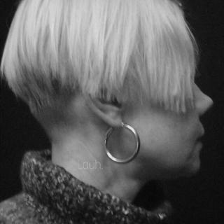 ロンハーマン(Ron Herman)のj8.chunky hoop pierce(silver)(ピアス)