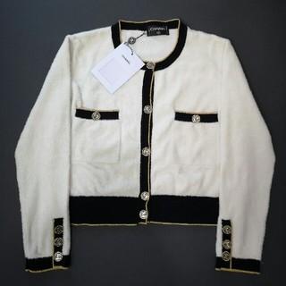 シャネル(CHANEL)のCHANEL セーター テーラードジャケット 結婚式 36 S 正規品(ニット/セーター)