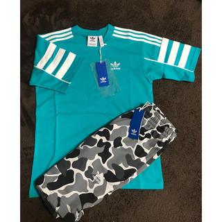 アディダス(adidas)のアディダス Tシャツ ハーフパンツ  セット販売 上XS下S(Tシャツ/カットソー(半袖/袖なし))
