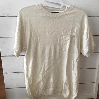 ドアーズ(DOORS / URBAN RESEARCH)のアーバンリサーチ サマーニット リネン 送料込み(Tシャツ/カットソー(半袖/袖なし))