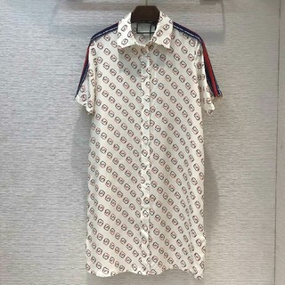 グッチ(Gucci)のGucci グッチ Tシャツワンピース Tシャツ レディース M (ひざ丈ワンピース)